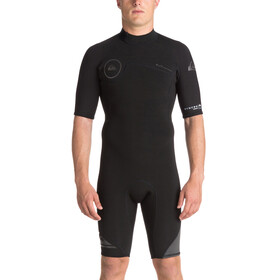 Quiksilver 2/2mm Syncro Series SS Back Zip FLT Springsuit Men Black/Black/Jet Black